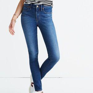 "Madewell 9"" High Riser Skinny Skinny Jeans, Sz 29"